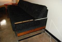 Milo Baughman 1960s Chrome Plated Sofa By Milo Baughman - 127068