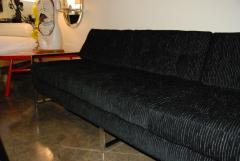Milo Baughman 1960s Chrome Plated Sofa By Milo Baughman - 127071