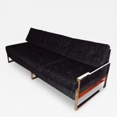 Milo Baughman 1960s Chrome Plated Sofa By Milo Baughman - 127505