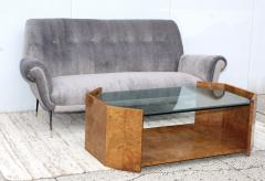 Milo Baughman 1970s Mid Century Modern Burl wood Coffee Table - 1121205