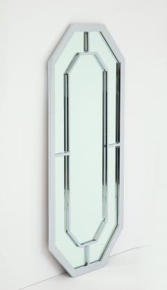 Milo Baughman 1970s Milo Baughman For Thayer Coggin Octagonal Chrome Mirror - 1162847