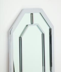 Milo Baughman 1970s Milo Baughman For Thayer Coggin Octagonal Chrome Mirror - 1162850