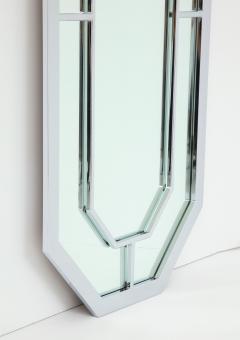 Milo Baughman 1970s Milo Baughman For Thayer Coggin Octagonal Chrome Mirror - 1162851