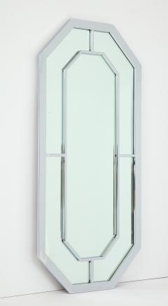 Milo Baughman 1970s Milo Baughman For Thayer Coggin Octagonal Chrome Mirror - 1162853
