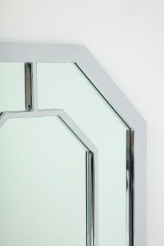 Milo Baughman 1970s Milo Baughman For Thayer Coggin Octagonal Chrome Mirror - 1162856