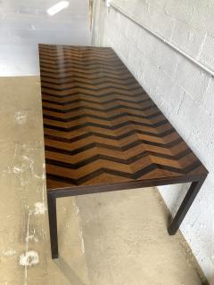 Milo Baughman American Modern Rosewood Mahogany Ebony Extension Dining Table Milo Baughman - 1463173