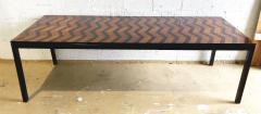 Milo Baughman American Modern Rosewood Mahogany Ebony Extension Dining Table Milo Baughman - 1464016
