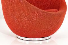 Milo Baughman Early Milo Baughman Egg Chair 1960 - 1789397