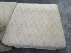 Milo Baughman Extra Large Milo Baughman 11 Piece Curved Back Cube Sectional Sofa Midcentury - 1709049