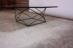 Milo Baughman Geometric Bronze Coffee Table by Milo Baughman for Directional - 832677