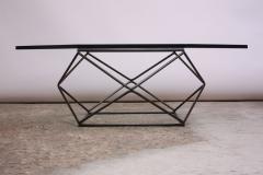 Milo Baughman Geometric Bronze Coffee Table by Milo Baughman for Directional - 832678