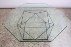 Milo Baughman Geometric Bronze Coffee Table by Milo Baughman for Directional - 832685