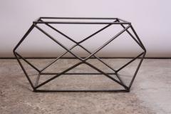 Milo Baughman Geometric Bronze Coffee Table by Milo Baughman for Directional - 832687