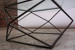 Milo Baughman Geometric Bronze Coffee Table by Milo Baughman for Directional - 832689