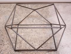 Milo Baughman Geometric Bronze Coffee Table by Milo Baughman for Directional - 832695