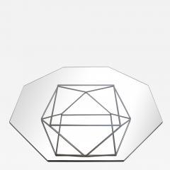 Milo Baughman Geometric Bronze Coffee Table by Milo Baughman for Directional - 877884