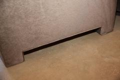Milo Baughman Mid Century Modern Milo Baughman Style Upholstered in Mohair Tuxedo Sofa - 962987