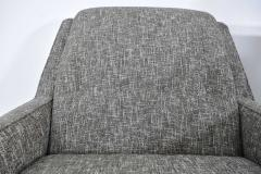 Milo Baughman Mid Century Modern Style Lounge Chairs in New Upholstery - 1148648