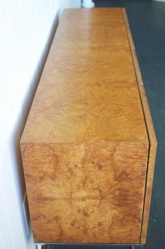 Milo Baughman Milo Baughman Burl Wood Cabinet   378331