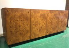 Milo Baughman Milo Baughman Burl Wood Sideboard Credenza - 1056881