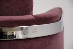 Milo Baughman Milo Baughman Chrome Lounge Chair - 1046190