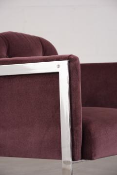 Milo Baughman Milo Baughman Chrome Lounge Chair - 1046192