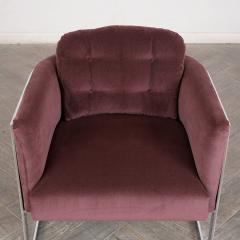 Milo Baughman Milo Baughman Chrome Lounge Chair - 1046194