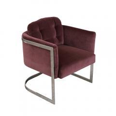 Milo Baughman Milo Baughman Chrome Lounge Chair - 1048949