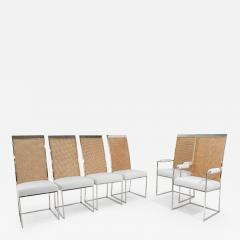 Milo Baughman Milo Baughman Dining Chairs in Holly Hunt Great Outdoors - 1241886