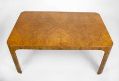 Milo Baughman Milo Baughman Dining Table for Thayer Coggin in Olive Burl Wood 1960s - 1826157
