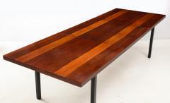 Milo Baughman Milo Baughman For Directional Striped Dining Table - 1996725