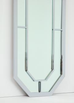 Milo Baughman Milo Baughman For Thayer Coggin Octagonal Chrome Mirrors - 1077857