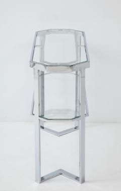 Milo Baughman Milo Baughman For Thayer Coggin Octagonal Mirror With Matching Console - 1548686