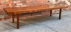 Milo Baughman Milo Baughman Low Walnut Long Bench or Coffee Table - 2079248
