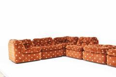 Milo Baughman Milo Baughman Seven Piece Cubo Sectional in Sienna - 1370350
