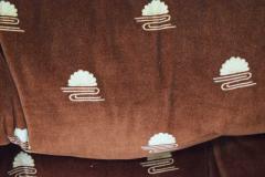 Milo Baughman Milo Baughman Seven Piece Cubo Sectional in Sienna - 1370358
