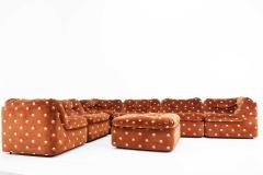 Milo Baughman Milo Baughman Seven Piece Cubo Sectional in Sienna - 1370364