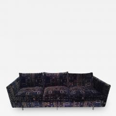 Milo Baughman Milo Baughman Sofa With Original Jack Lenor Larsen Fabric    427466