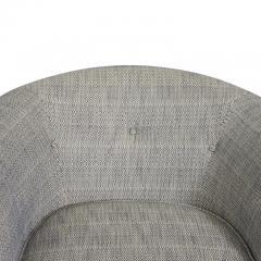 Milo Baughman Milo Baughman Swivel Chairs on Bronze Bases - 1102148