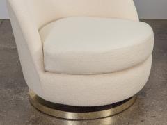 Milo Baughman Milo Baughman Swivel Lounge Chairs - 1502884
