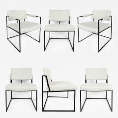 Milo Baughman Milo Baughman Thayer Coggin Dining Chairs Set of 6 circa 1971 - 1136252