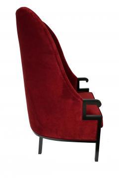 Milo Baughman Modern High Back Armchair - 857086