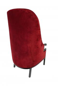 Milo Baughman Modern High Back Armchair - 857088