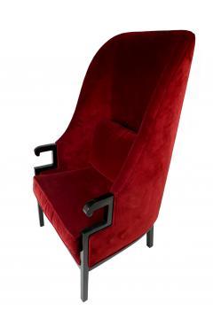 Milo Baughman Modern High Back Armchair - 857089