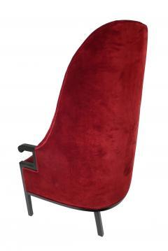 Milo Baughman Modern High Back Armchair - 857090