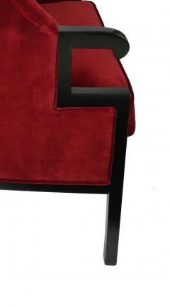 Milo Baughman Modern High Back Armchair - 857094