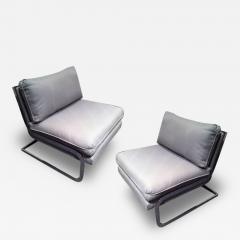 Milo Baughman Pair of Milo Baughman Club Chairs - 79393