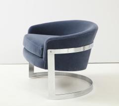 Milo Baughman Pair of Milo Baughman Club Chairs  - 1136011