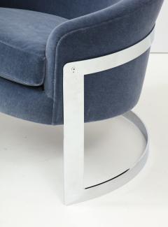 Milo Baughman Pair of Milo Baughman Club Chairs  - 1136012