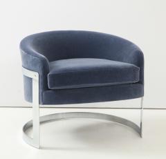 Milo Baughman Pair of Milo Baughman Club Chairs  - 1136013
